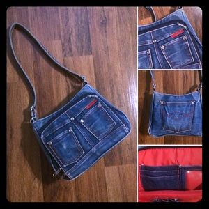 🔴2/$10 or 5/$20. Vintage Early 80s Denim Purse